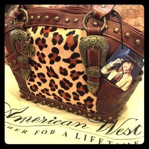 New American West Purse.